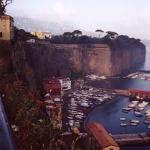 Parts of an old city wall erected by the Greeks can still be seen today in Sorrento