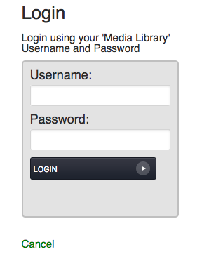 login username and password
