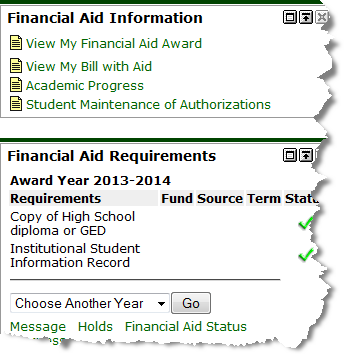 image of Financial Aid channel