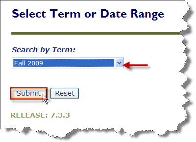 graphic of the course Search by Term option in Pipeilne