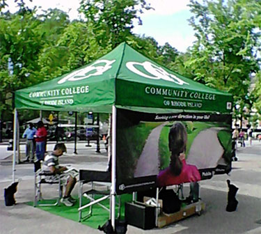 Mobile Recruit Team tent